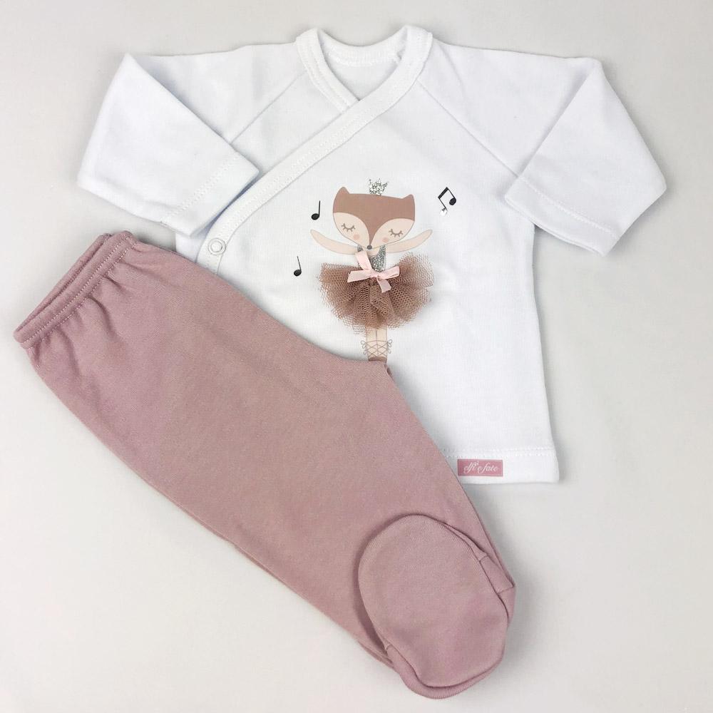 Conjunto de camiseta y polaina Dancer
