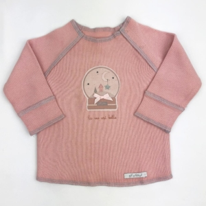 Art105-sudadera rosa snowball