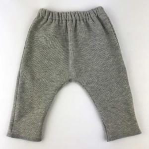 Pantalón de algodón orgánico gris