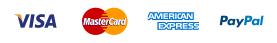 Visa-Mastercard-American Express-PayPal-ViaBill