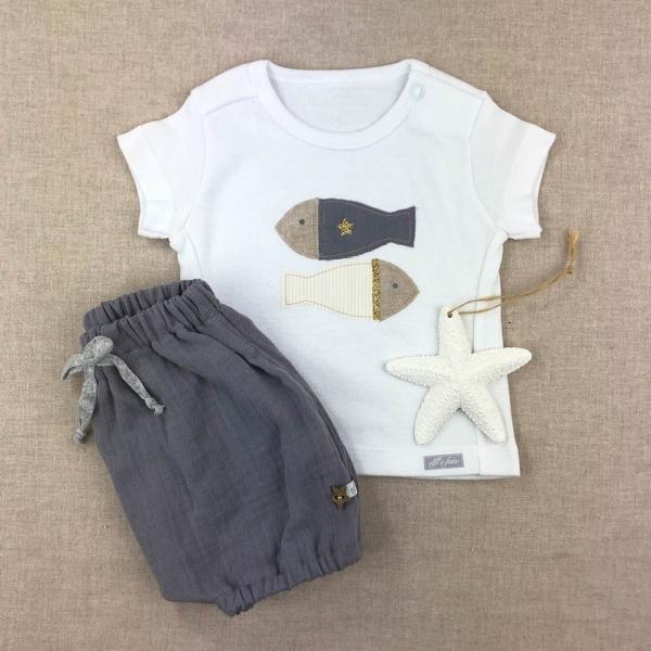 Conjunto camiseta y short