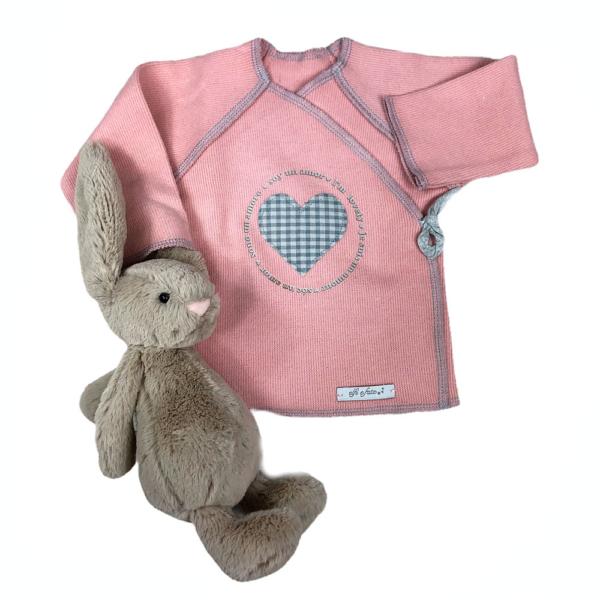 camiseta cruzada cuore