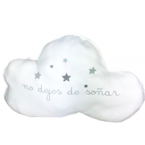 Cojín con forma de nube